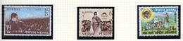 1967 - NEPAL  -  Mi. Nr.  213/214+218 - NH - (CW4755.43) - Nepal