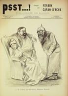 """JOURNAL SATIRIQUE """"PSST""""-1899/63-CARAN D'ACHE,FORAIN-REINACH, FUMOIR-rare - Libri, Riviste, Fumetti"""