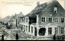 007592  La Grande Guerre 1914 - Bataille De L'Yser. Pervyse Après Le Bombardement Des Boches - Diksmuide
