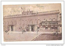 MALTA - ROYAL PALACE - PHOTO THE GRAND STUDIO - STAMPS - 1920s (BG3860) - Malta