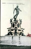007593  Laeken - La Fontaine De Jean De Bologne (Neptune) - Plätze