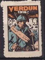 France Erinophilie  VERDUN 1916 - Militair