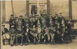 Carte Photo Argent Sur Sauldre  Conscrits Classe 27, Robert Cauquy, Louis Duret , André Boite, Gaston David Etc - Argent-sur-Sauldre