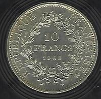FRANCE ARGENT 10 FRANCS HERCULE 1968 - France