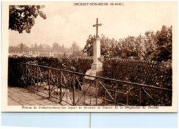 78 CROISSY-sur-SEINE - Restes De L'emplacement Sur Lequel Se Dressait La Justice De La Séigneurie De Croissy - Croissy-sur-Seine