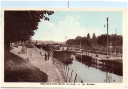 78 CROISSY-sur-SEINE - Les écluses - Croissy-sur-Seine