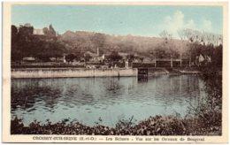 78 CROISSY-sur-SEINE - Les écluses - Vue Sur Les Coteaux De Bougival - Croissy-sur-Seine