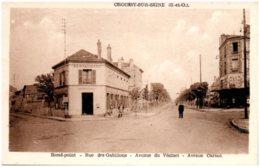 78 CROISSY-sur-SEINE - Rue Des Gabillons - Avenue Du Vésinet - Avenue Carnot - Croissy-sur-Seine