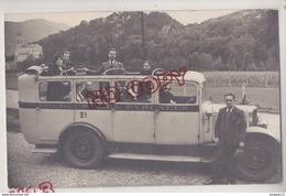 Au Plus Rapide Carte Photo Autocar Lourdes Les Pyrénées N° 21 - Lourdes