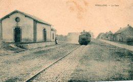 28. CPA. GOUILLONS. La Gare, Arrivée D'un Train. - France