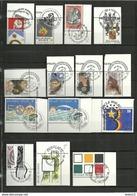 (22.07) BELGIE  Zegels Met  Gelegenheidsstempels 1991-1992 - Belgium