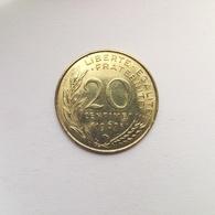 20 Centimes Münze Aus Frankreich Von 1967 (sehr Schön Bis Vorzüglich) - E. 20 Centimes
