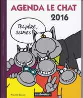 Philippe Geluck - Agenda Le Chat 2016 - Casterman - TBE - Geluck