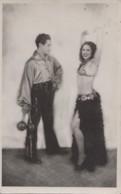 Spectacles - Artistes - Artists - Cirque - Danse Jonglerie Jonglage - Lady Et William Jackson - Carte-Photo - Entertainers
