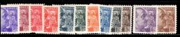 Espagne YT N° 664/675 Neufs *. B/TB. A Saisir! - 1931-50 Nuevos & Fijasellos