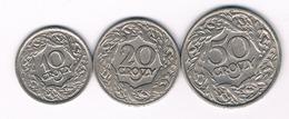 10+20+50 GROSZY 1923 POLEN//5567/ - Pologne