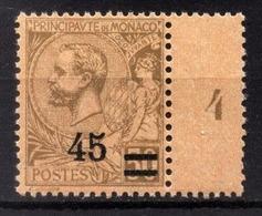 MONACO 1923 / 24  - Y.T. N° 70 - NEUF ** - Nuevos