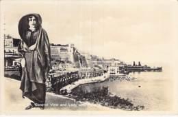 MALTA Malte - General View And Lady With Faldetta - CPSM Photo Format CPA - - Malta