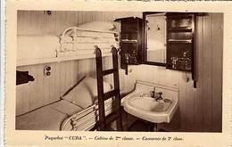 "CP - Paquebot "" Cuba "" - Cabine De 2° Classe - - Dampfer"