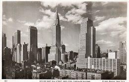 SKYLINE EAST-NEW YORK-CHRYSLER BUILDING-REAL PHOTO- NON VIAGGIATA - Chrysler Building