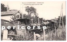 34  Saint Pons  Ardouane  Tamponnement Du 30 Septembre 1908 - Autres Communes