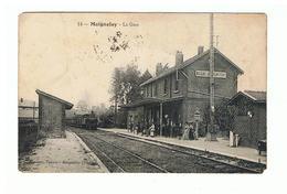 1930-707 Gare De Maignelay   Dept 60  La Vente Sera Retirée  Le 10-08 - Maignelay Montigny