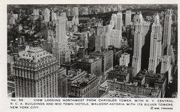 TOWN HOTELS-WALDORF ASTORIA-NEW YORK-CHRYSLER BUILDING-REAL PHOTO- NON VIAGGIATA - Chrysler Building