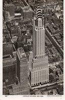 -NEW YORK-CHRYSLER BUILDING-REAL PHOTO- NON VIAGGIATA - Chrysler Building