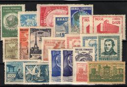 Brasil Nº  484, 490/1, 499, 501/2, 469, 476, 476, 479/80, 504, 506/8, 514, 518, 550/1, 552/4 - Brazil