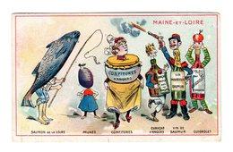Chromo France Gastronomique, Maine-et-Loire, Vin..., Modes, Larible, Auxerre - Autres