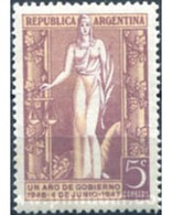 Ref. 283153 * MNH * - ARGENTINA. 1947. PRIMER ANIVERSARIO DE LA ELECCION DEL PRESIDENTE GENERAL PERON - Nuovi