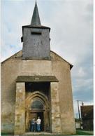 58 - ALLUY - L'Eglise - Photographie (format 14,8 X 10,2) Datée Du 19 Octobre 2001. BE. - Luoghi
