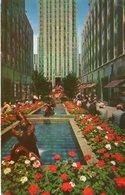 PROMENADE ROCKFELLER PLAZA-NEW YORK CITY-NON  VIAGGIATA - Piazze