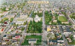 SALEM-OREGON FROM THE AIR-NON  VIAGGIATA - Salem