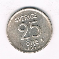25 ORE  1954  ZWEDEN /5579/ - Suède