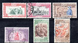 ETP245 - ETIOPIA 1955 , Serie Yvert  N. 333/338 Usato - Etiopia