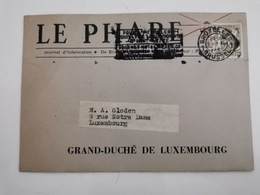 Le Phare, Grand-Duché De Luxembourg - Abarten & Kuriositäten
