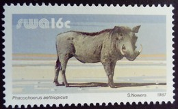 Sud Ouest Africain SWA 1987 Animal Phacochère Yvert 561 ** MNH - South West Africa (1923-1990)