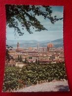 FIRENZE Panorama Viaggiata Anni 50 - Firenze