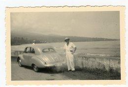 Homme Man Car Voiture à Situer Identifier  Id Lyon 1953 - Persone Anonimi