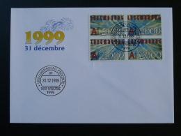 FDC Saint-Sylvestre Luxembourg 31 Décembre 1999 - FDC