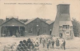 SAINT-CLAIR-DE-HALOUZE - MINES DE HALOUZE - PUITS N° 1 ET SALLE DES MACHINES - France