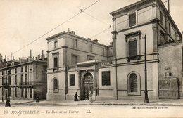 CP. 34. Montpellier. La Banque De France - Montpellier