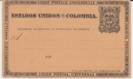 NEW POST CARD 2 CENTAVOS - Colombie