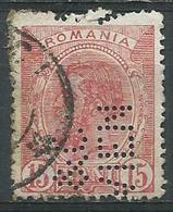 Roumanie 1893-1900 Charles 1er 15 B Rose Perforé NEN - 1881-1918: Carol I