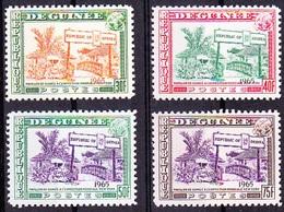 Repubique De Guinee, 1965 - Exposition Mondial New York / Complete Set - MNH - Universal Expositions