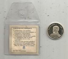 Médaille , NAPOLEON I ,1769-1821 , Les Roi De France, Certificat De Garantie, 2 Scans - Royaux / De Noblesse
