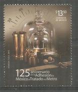 Convencion Del Metro:Sistema Métrico Decimal,Adaptacion A México 1890. Año 2015. Nuevo ** - Mexico