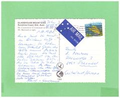 1984 AUSTRALIA QUENSLAND AIR MAIL POSTCARD WITH 1 STAMP TO SWISS - 1980-89 Elizabeth II