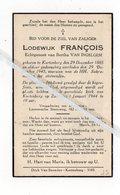 LODEWIJK FRANCOIS ° KORTENBERG 1885 + 1943 / BERTHA VAN INGELGEM ° BOOM 1886 + ERPS-KWERPS 1950 - Images Religieuses